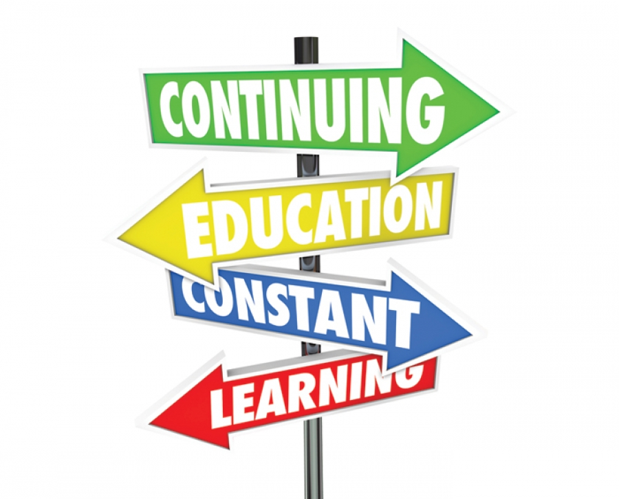 how to add continuing education on resume